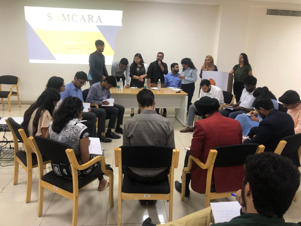 Samcara at Manipal for rank holder CAs-Group Discussion preparation