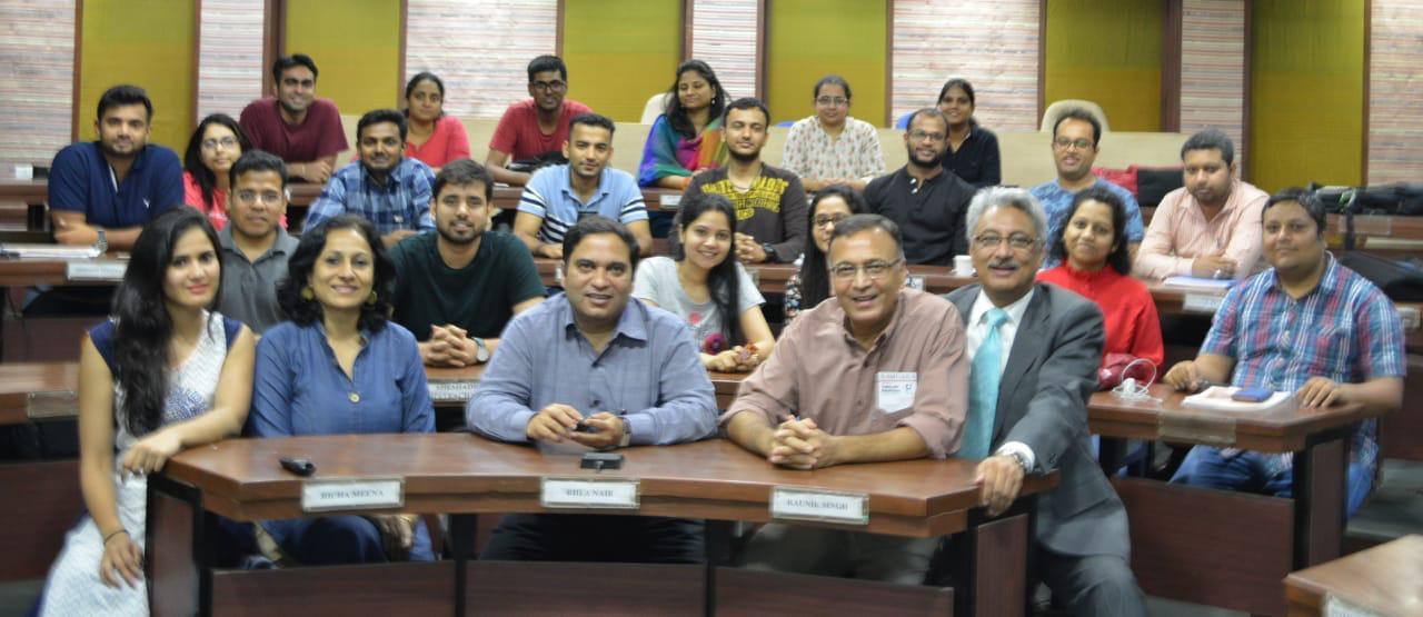 Samcara at IIM Indore after Workshop
